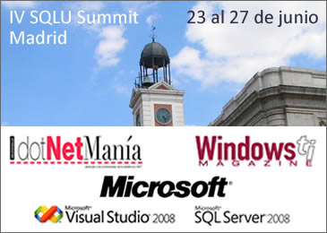 SQLU Summit Madrid 2008